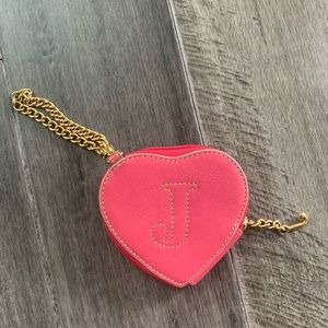 Juicy Couture Pink Heart Coin Purse